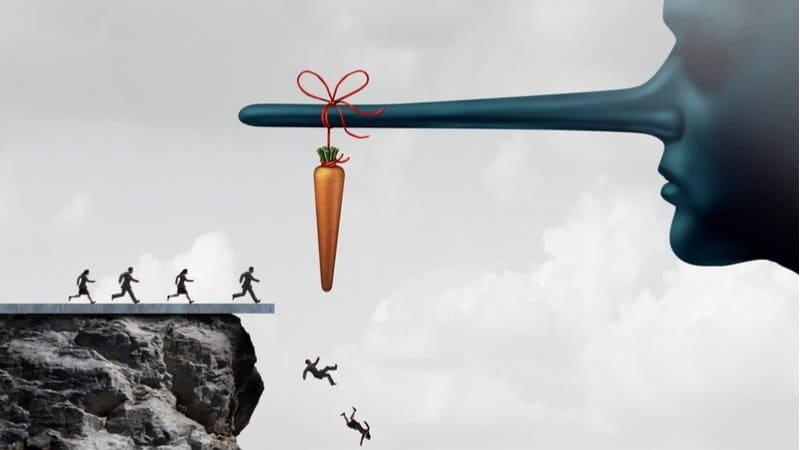 metafora keserakahan manusia